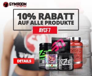 Gymroom Gutschein - 7% Rabatt