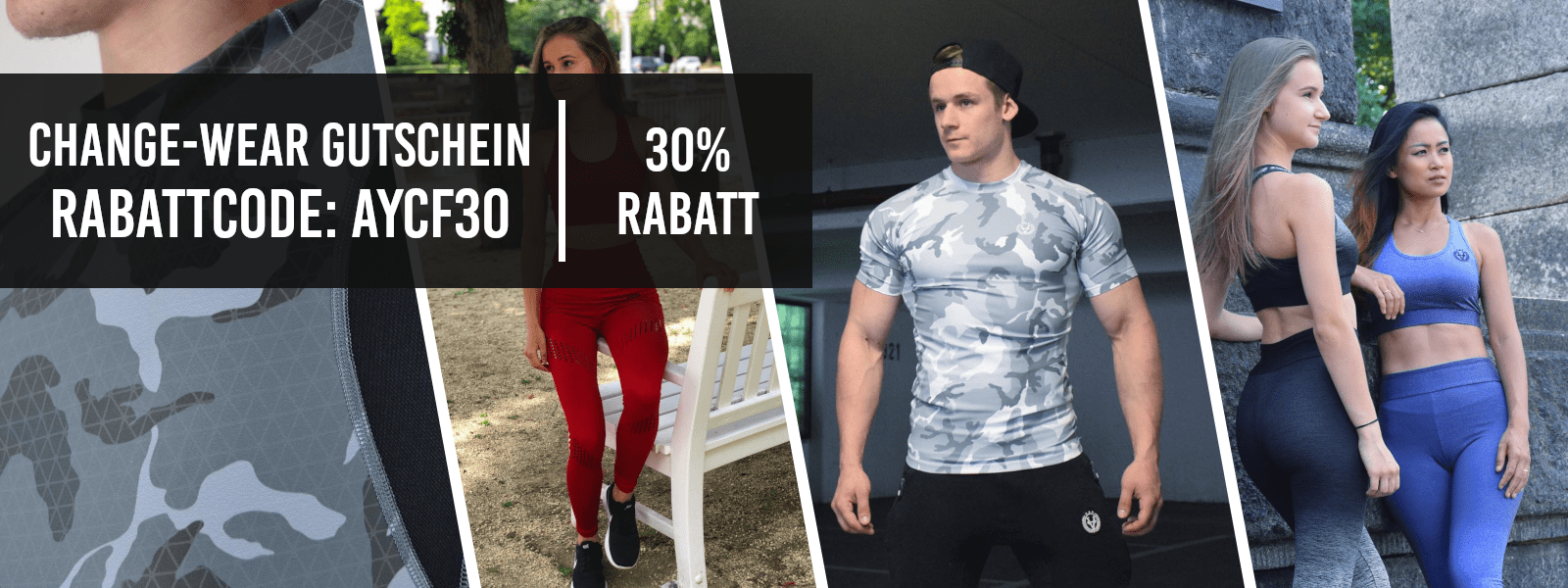 Change Wear Gutschein - 30% Rabatt