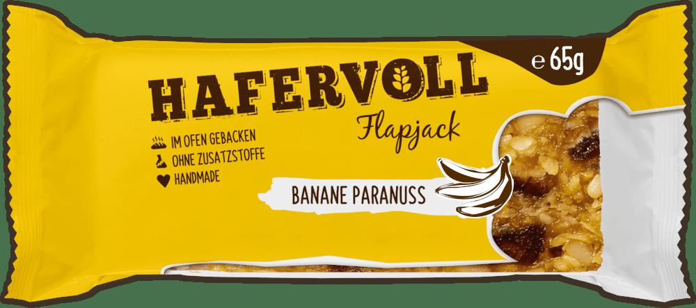 HAFERVOLL Flapjack - Banane Paranuss