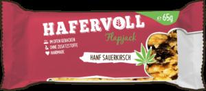 HAFERVOLL Flapjack - Hanf Sauerkirsch