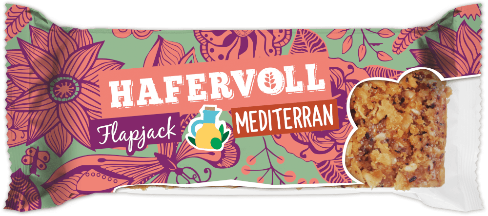 HAFERVOLL Flapjack - Mediterran
