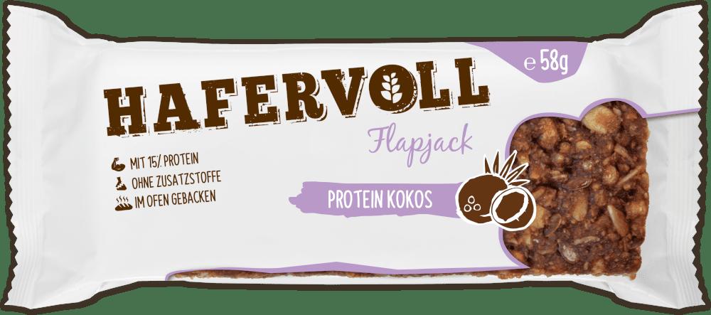 HAFERVOLL Flapjack - Protein Kokos