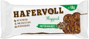 HAFERVOLL Flapjack - Protein Walnuss