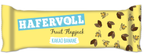 HAFERVOLL Fruit Flapjack Kakao Banane
