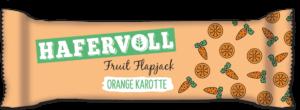 HAFERVOLL Fruit Flapjack Orange Karotte