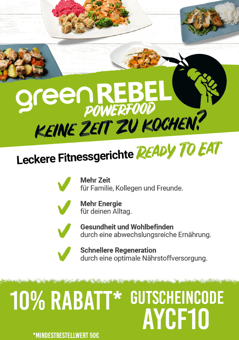 green REBEL Gutschein
