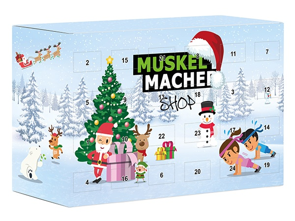 Muskelmacher Adventskalender