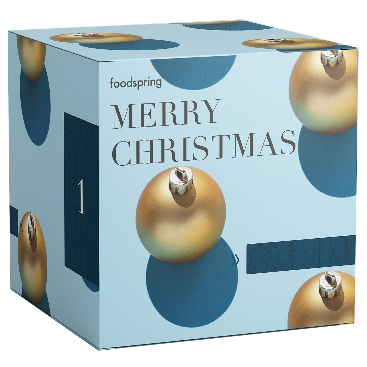 foodspring Adventskalender Muscle