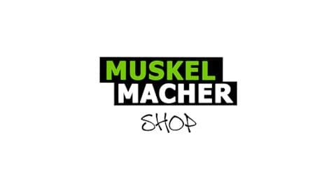 Muskelmacher-Shop Logo